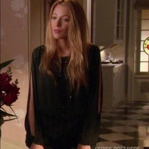 Gossip Girl Haute Hippie embellished dress
